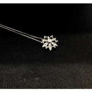 Collana DAMIANI Oro Bianco e Diamanti