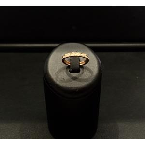 Anello Riviere Oro Giallo e Diamanti