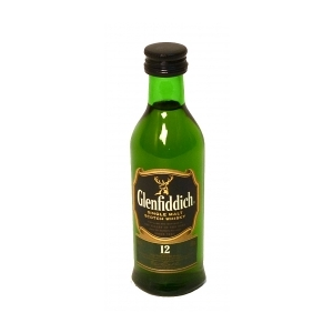 Whisky Glenfiddich 12 y 40° cl.5 MIGNON