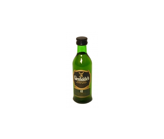 Whisky Glenfiddich 12 y 40° cl.5