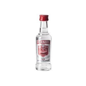 Vodka Smirnoff Red  37,5° cl.5 MIGNON