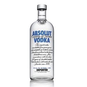 Vodka Absolut Blù 40° cl.5