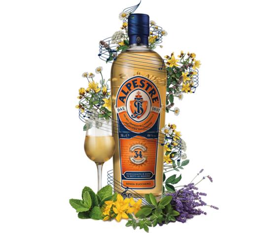 Alpestre Distillato d'erbe  cl. 70