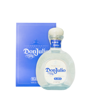 TEQUILA DON JULIO BLANCO 38° CL.70 ASTUCCIATA
