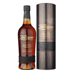RON ZACAPA EDICTION NEGRA 43°  CL.100  TUBO