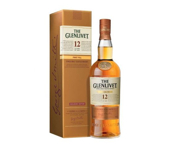 WHISKY THE GLENLIVET 12 Y FIRST FILL ASTUCCIATO 70 CL