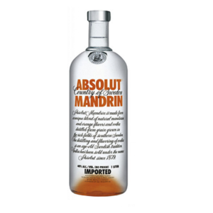 Vodka Absolut Mandarin 40° cl.100