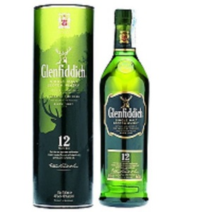 Whisky Glenfiddich 12 y 40° cl.70