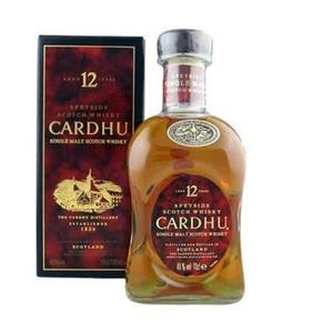 Whisky Cardhu 12 y 40° cl.70
