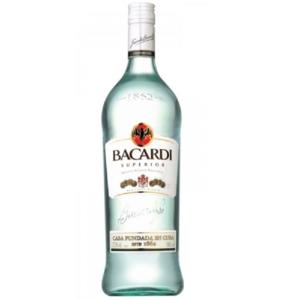 Rum Bacardi Bianco Superior Carta Blanca 37,5° cl.100