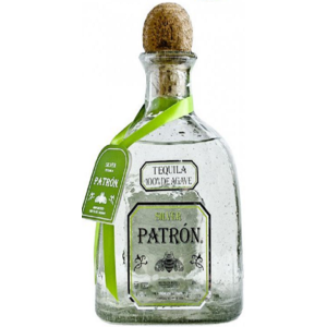 TEQUILA SILVER PATRON 40° CL. 70 100% AGAVE