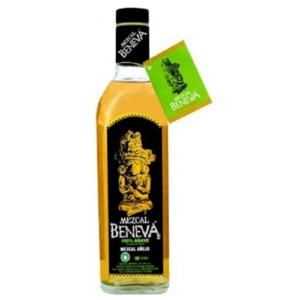 Tequila Mezcal Beneva con Gusano cl.70