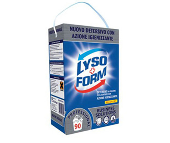 LYSOFORM POLVERE LAVATRICE IGIENIZZANTE 8,5KG=90 LAVAGGI