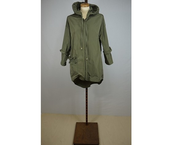 TRENCH CON ROUCHES