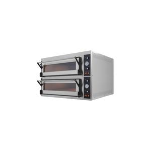 Forno elettrico pane/pizza 2 camere cm 83x124x18h
