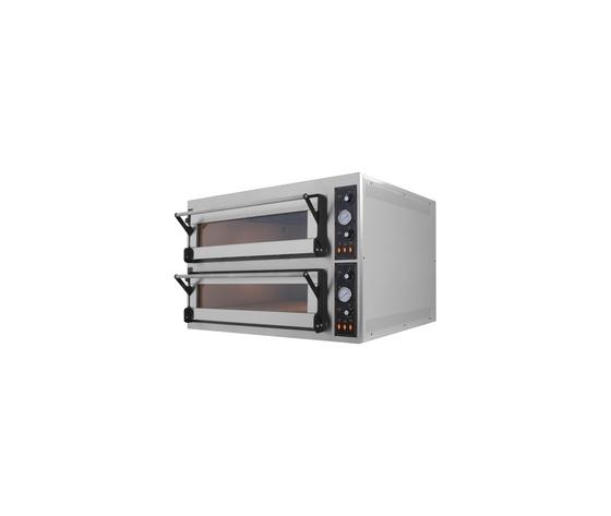 Forno elettrico pane/pizza 2 camere cm 83x124x18h-TR66