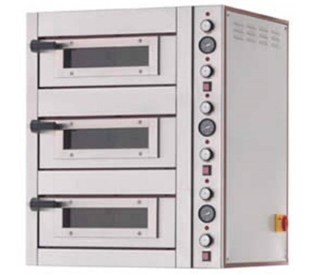 Forno pizza elettrico 3 camere 18 pizze-ZP3-95