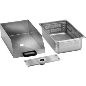 Cassetto con filtro per lavacozze e pelapatate LCF/PPF