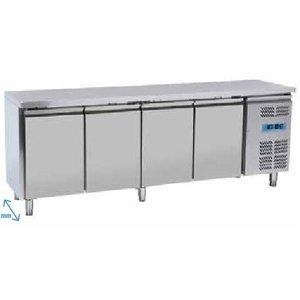 Tavolo refrigerato 4 porte Temp. -18° -22° C