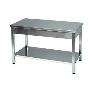 Tavolo da lavoro inox dimensioni cm 180x70x85h