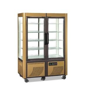 Vetrina Espositore refrigerato panoramico 2 porte in vetro