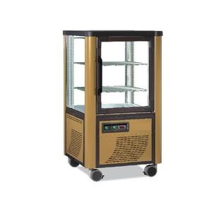 Vetrina Espositore refrigerato panoramico 1 porta in vetro Temp. -5° -20° C