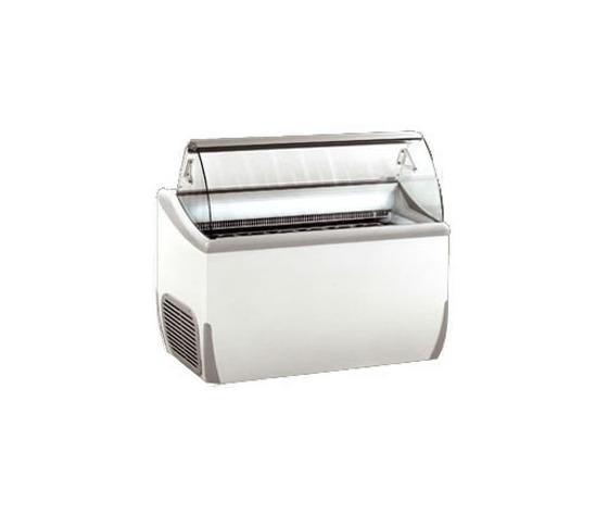 Vetrina per gelato mantecato 9 vaschette da 5 l. 24 vaschette da litri 2.5