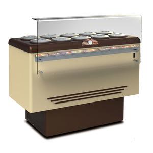 Vetrina gelato DOLCE VITA 10 LUXE 10+10 carapine
