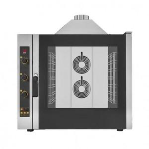 Forno gas a convezione con vapore 7 teglie GN1/1-EKF 711 G UD