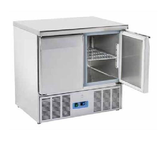 Saladette refrigerata 2 porte top inox