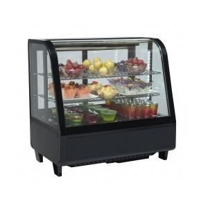 Espositore refrigerato da banco nero 69x45x68-RC100B