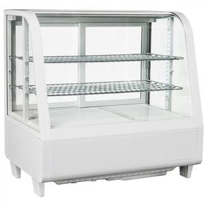 Espositore refrigerato da banco bianco 69x45x68