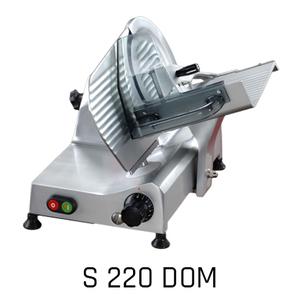 Affettatrice a gravità lama diametro cm 22-S 220 Dom.