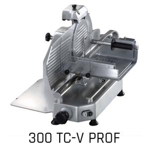 Affettatrice verticale per carni lama diam. cm 30-F300 TCV- PROF.