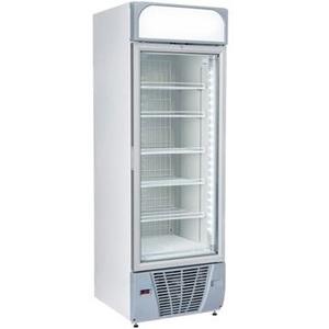 Armadio Freezer 390 l. porta in vetro+canopy pubblicitario