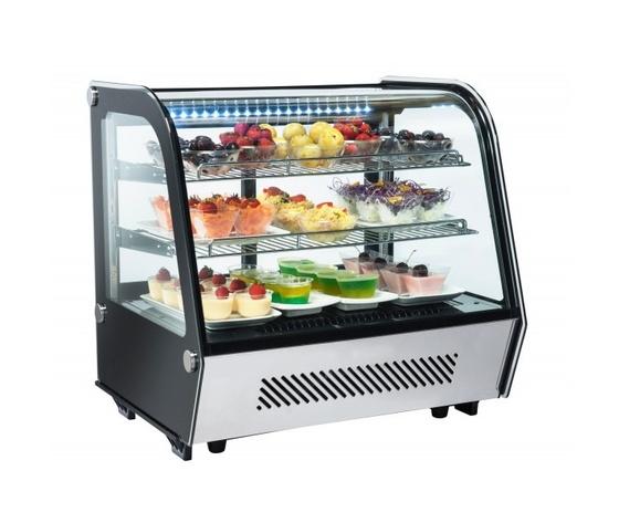 Espositore refrigerato da banco 70x57x69 cm-RC120
