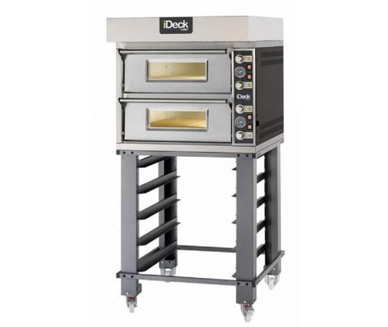 Forno pizza elettrico Moretti 1 camera cm 105x105x14h-DECK PM 105.105