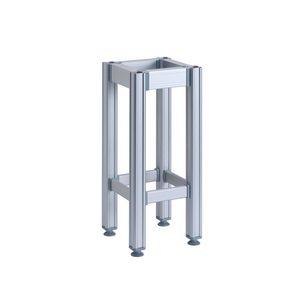 Ceppo in polietilene con sgabello in alluminio spessore 15 cm-CPSA15