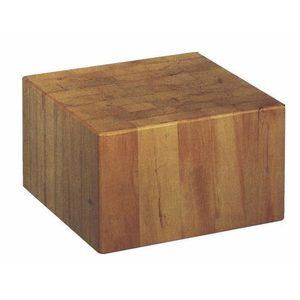 Ceppo in legno di robinia cm 35x35x30h spessore 30 cm varie misure-CU30