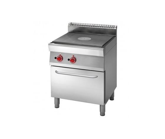 Cucina tuttapiastra a gas con forno a gas prof. 70 cm-ATRC-70/70 TPFG