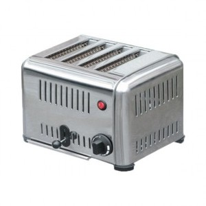 Toaster con timer da 4 fette
