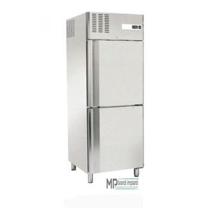 Armadio frigo 2 mezze porte 550 litri temperatura -2°+8°C