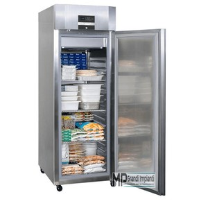 Armadio freezer inox 1 porta temp -18°-22°C comandi touch screen