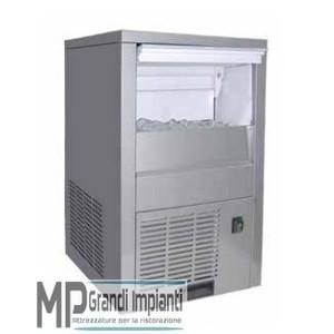 Fabbricatore di ghiaccio 20 kg/24h cubetto pieno-ICM20