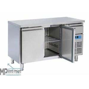 Tavolo freezer inox 2 porte