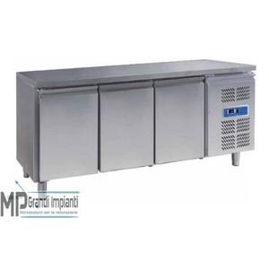 Tavolo refrigerato per pasticceria 3 porte