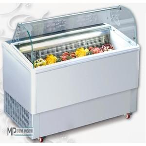 Vetrina gelato 6 vaschette con riserva