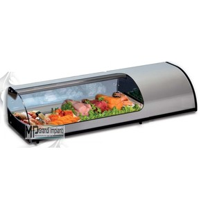 Vetrina sushi refrigerata da banco 4 vaschette