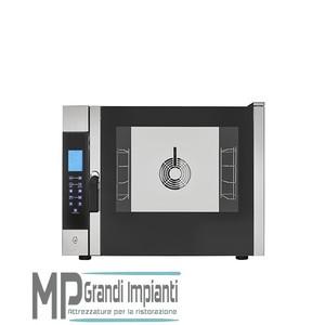 Forno elettronico a convezione con vapore e Touch Control 4 teglie 600x400