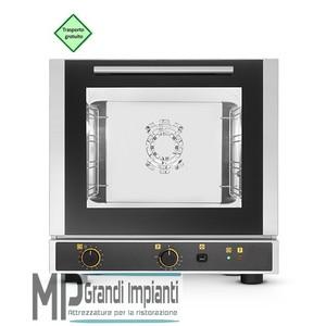 Forno elettrico ventilato a convezione con umidificazione 4 teglie 429x345 mm